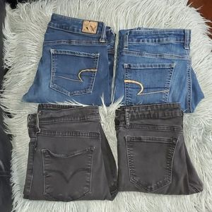 Selling as a bundle 4 pairs jeans